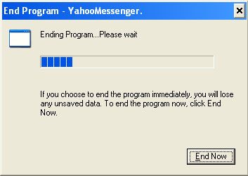 Yahoo Messenger 9 FAIL